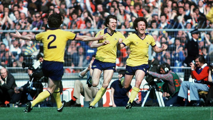 FA Cup Arsenal 1979