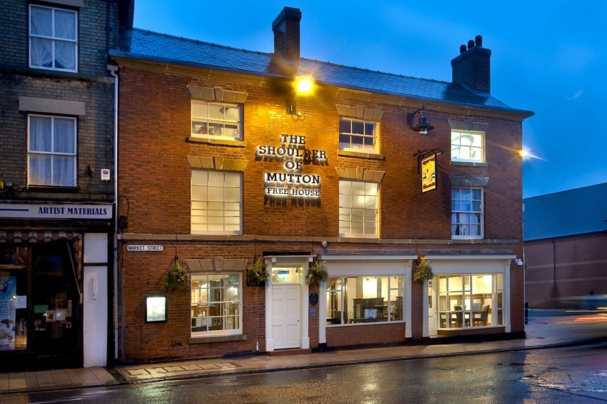 Adrian Mole, Ashby De La Zouch Celebrities And Packed Pubs