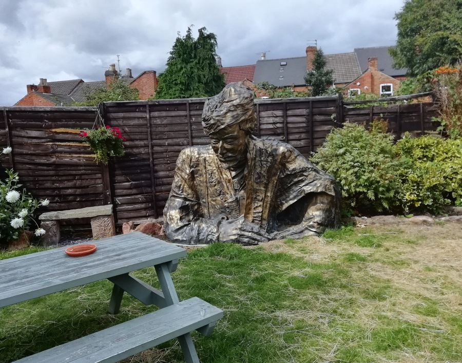 BFG Spotted In Derby Boozer Beer Garden