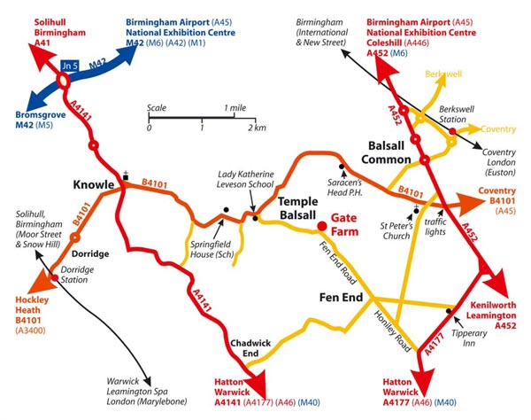 Saracens Map