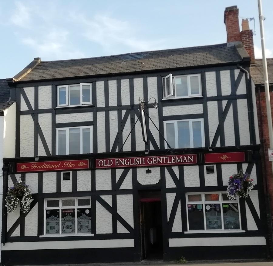 Classic Pub Frontages InLoughborough
