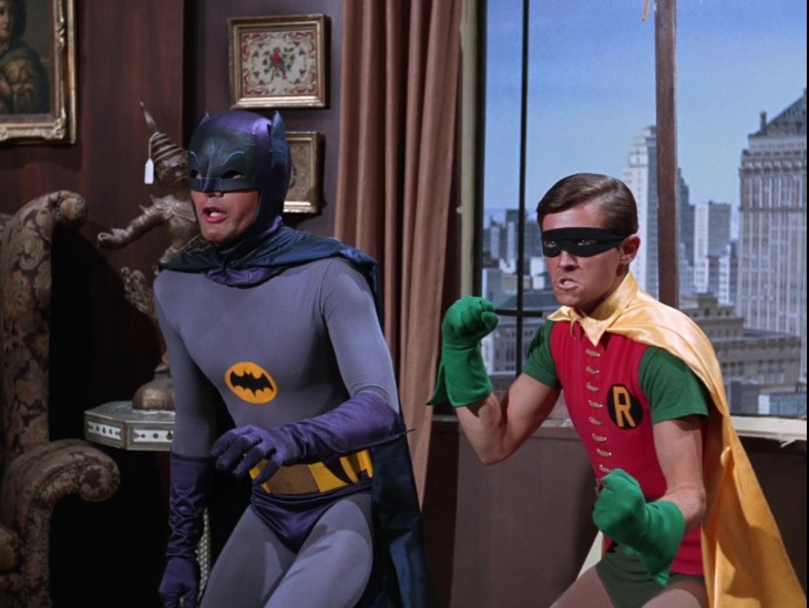 Gotham Batman Robin dam West Burt Ward
