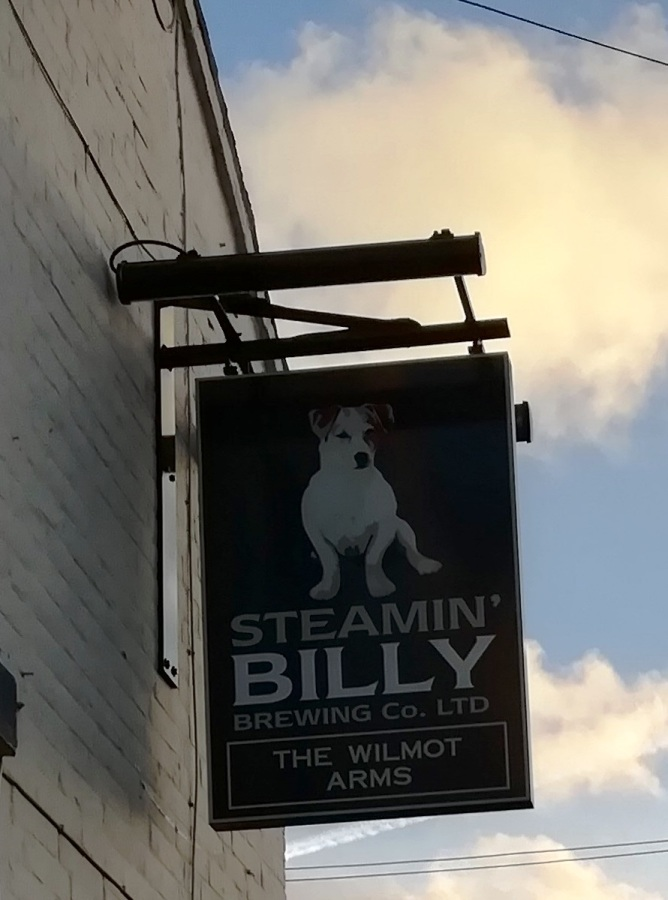 Steamin' In The WilmotArms