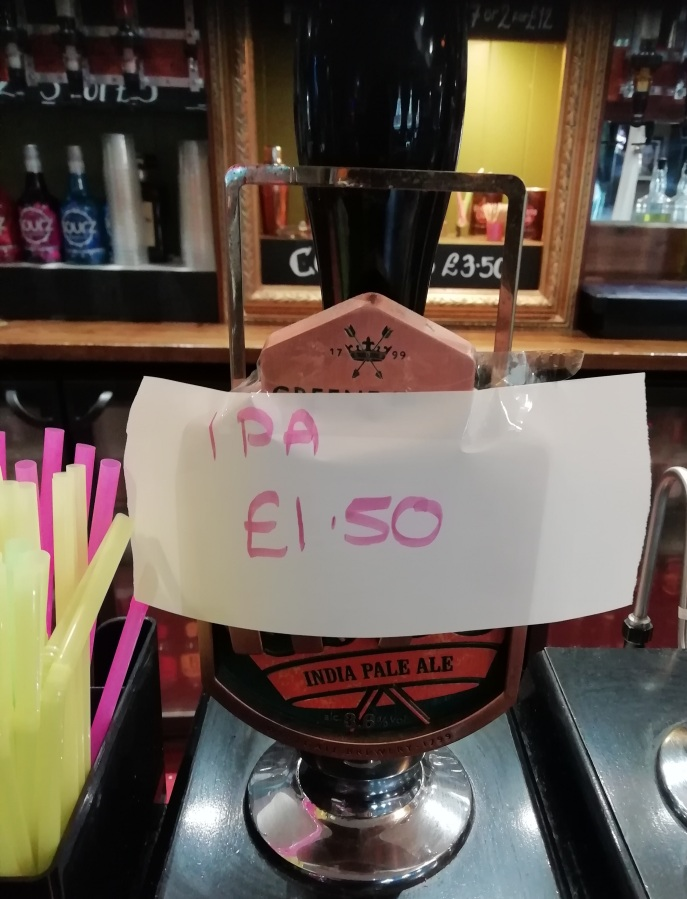 Bargain Booze At The Crown AndArrows