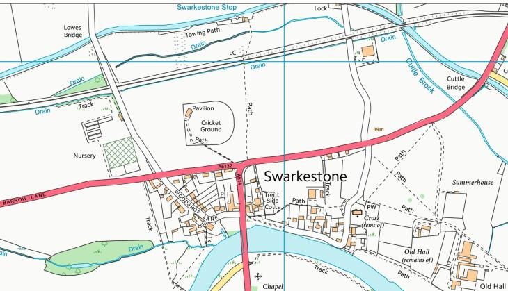 Swarkestone CC Map