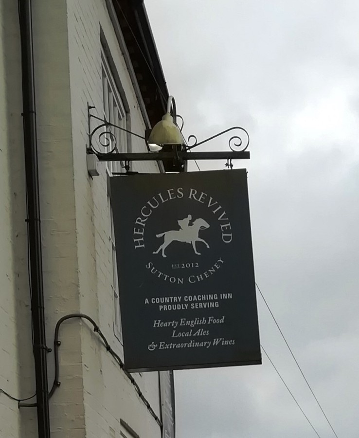 Great Pub Names #1: Hercules Revived
