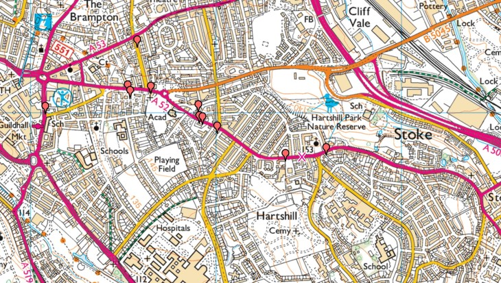 Hartshill map 1