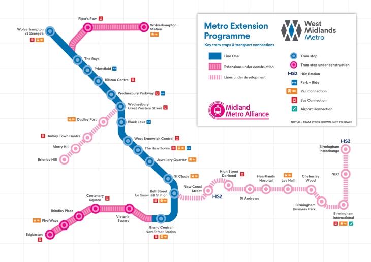 Wolves Metro Map