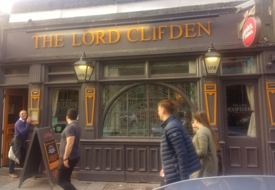 Top 20 Pubs: The Lord Clifden,Hockley