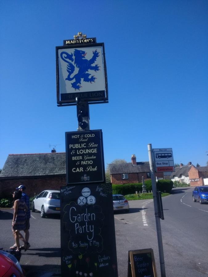 Top 20 Pubs: The Blue Lion,Thrussington