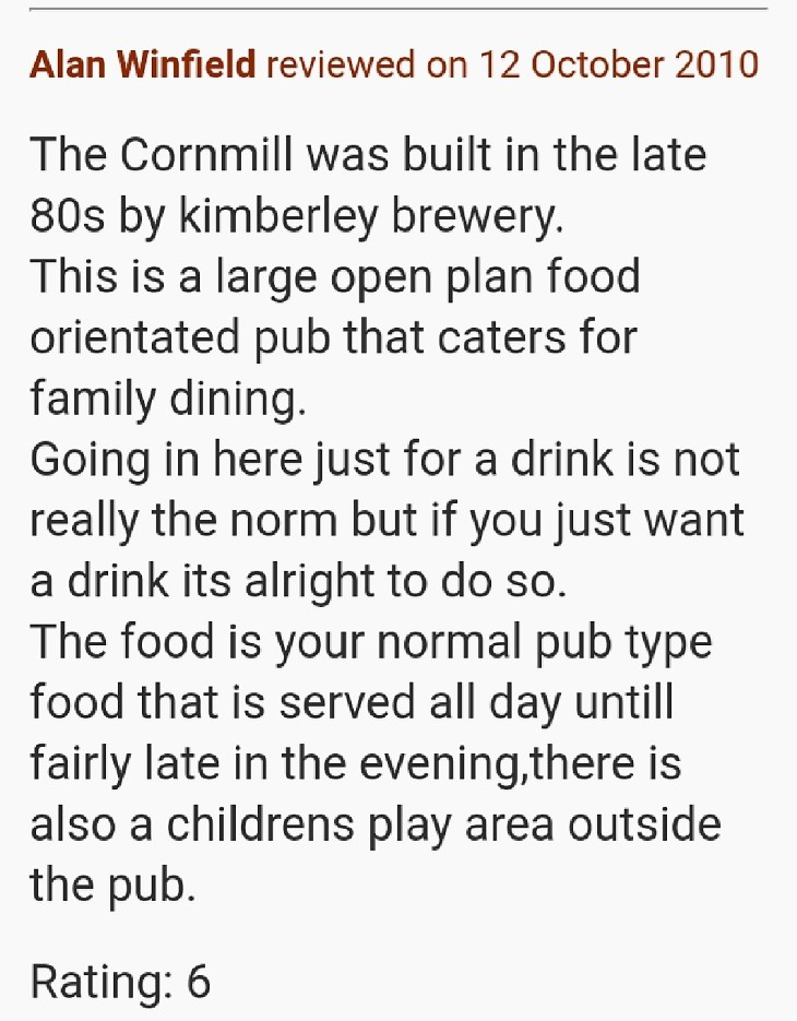 Corn Mill
