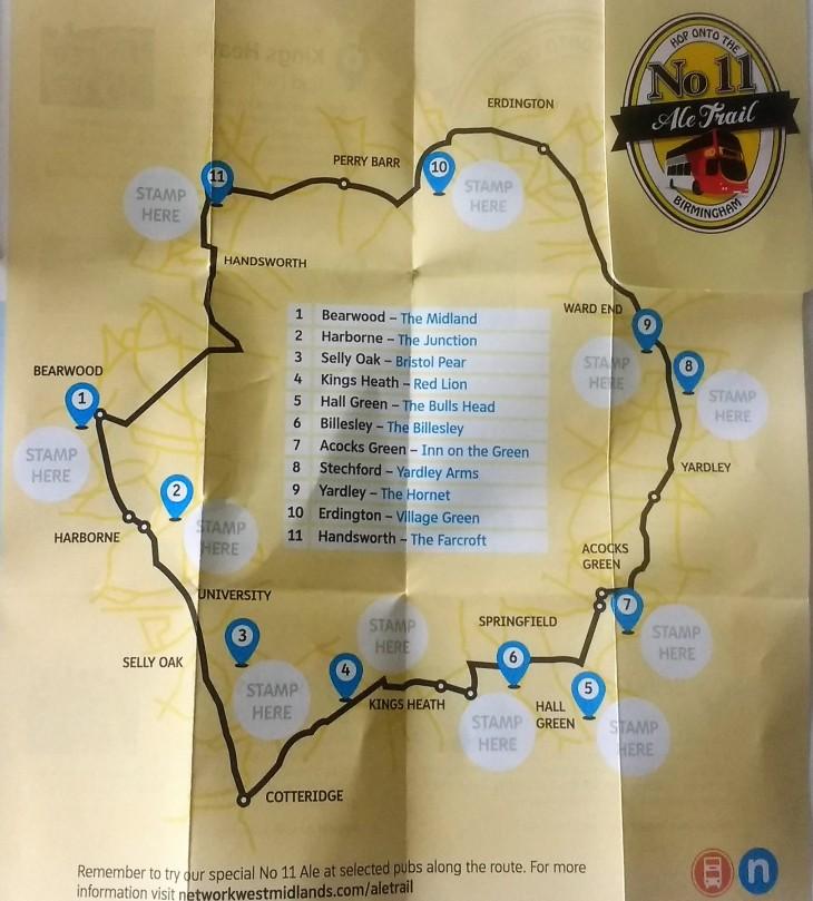 No 11 Ale Trail