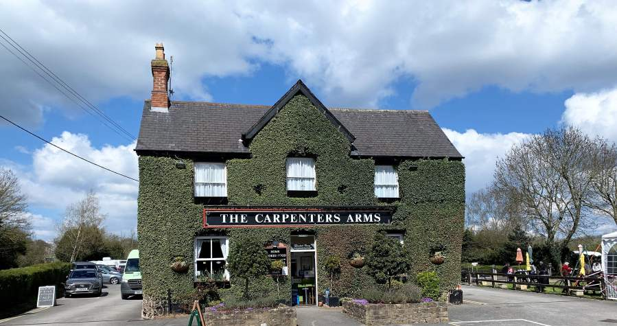 The Carpenters Arms – Pubs Are Open!