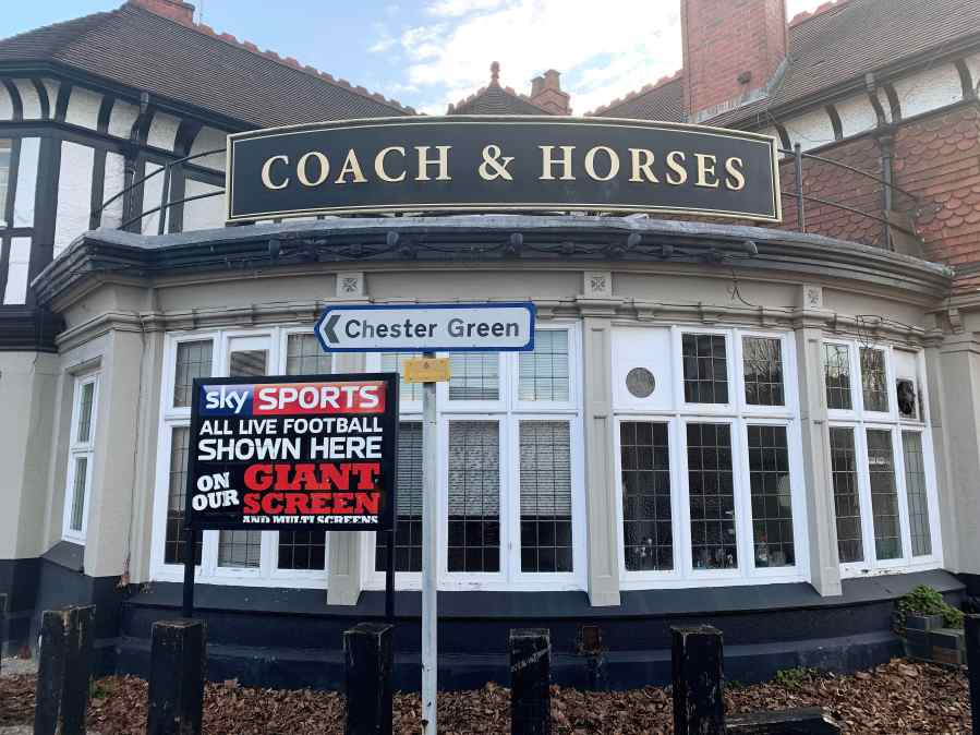 That Was The Week That Was…Coach And Horses In ChesterGreen